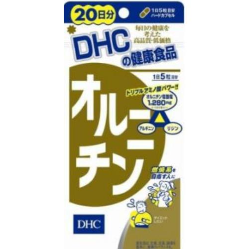 【楽天市場】DHC オルニチン 20日分 100粒   ( 4511413404607 ):ケンコウlife