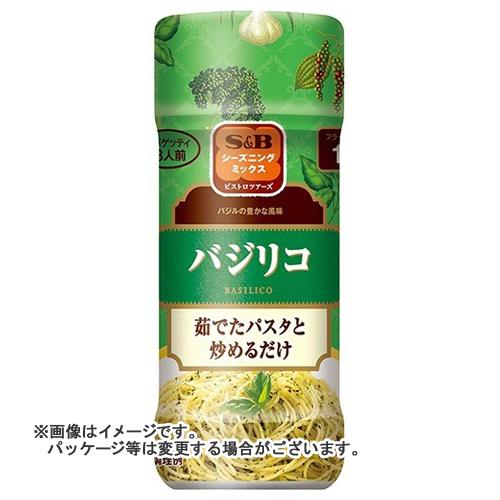 【送料無料】 S&B シーズニング バジリコ ボトル 40g ×40個セット