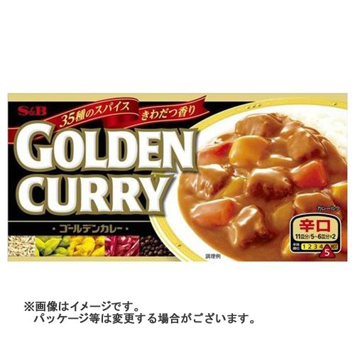 【送料無料】 ゴールデンカレー 辛口 198g ×60個セット