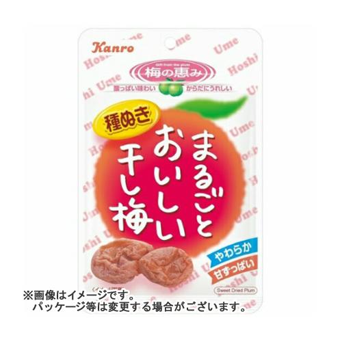 【送料無料・まとめ買い×72個セット】カンロ まるごとおいしい干し梅 19g