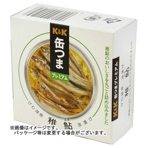 【送料無料】 国分 KK 缶つまプレミアム びわ湖産 稚鮎油漬け EO缶 113g×24個セット