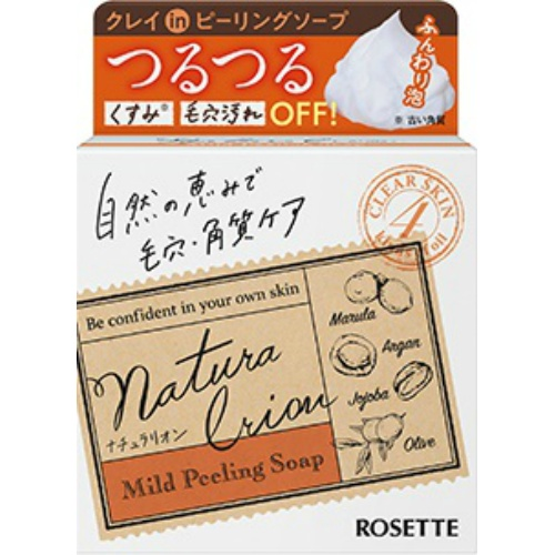 【送料無料・まとめ買い×24個セット】ロゼット ナチュラリオン マイルドピーリング ソープ 60g