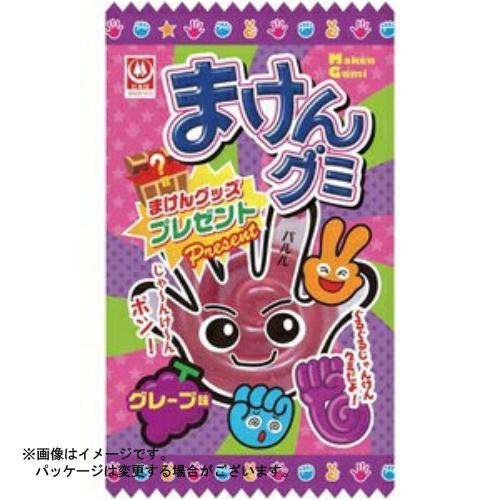 【送料無料・まとめ買い×240個セット】杉本屋製菓 まけんグミ グレープ味 15g