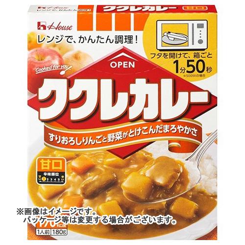 【送料無料】 ハウス ククレカレー 甘口×60個セット