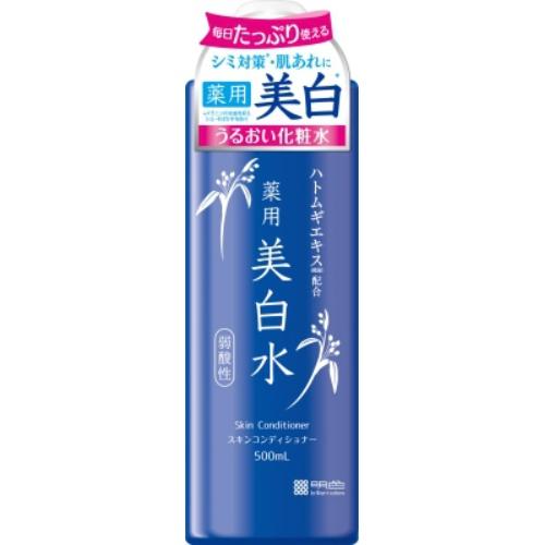【送料無料・まとめ買い×15個セット】明色化粧品 雪澄 薬用 美白水 500ml