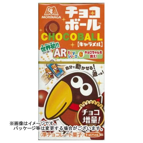 【送料無料・まとめ買い×240個セット】森永 チョコボール キャラメル 28g