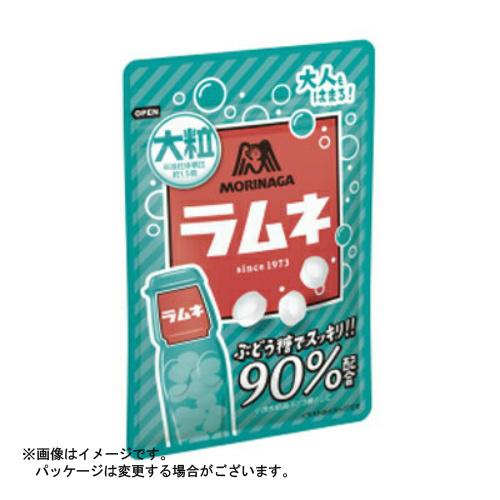 【送料無料・まとめ買い×120個セット】森永 大粒ラムネ 41g