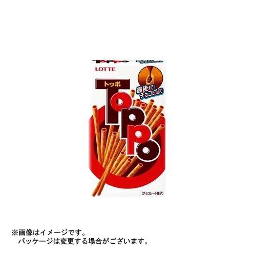 【送料無料・まとめ買い×120個セット】ロッテ トッポ 2袋入×1箱