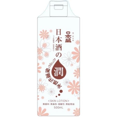 【送料無料・まとめ買い×20個セット】日本盛 日本酒のたっぷり保湿 化粧水 500ml