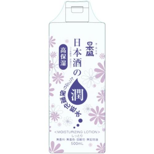 【送料込・まとめ買い×20個セット】日本盛 日本酒のたっぷり保湿 化粧水 しっとり 500ml
