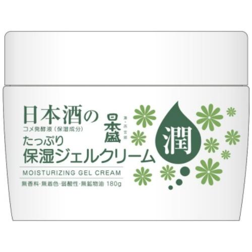 【送料無料・まとめ買い×36個セット】日本盛 日本酒のたっぷり保湿 ジェルクリーム 180g
