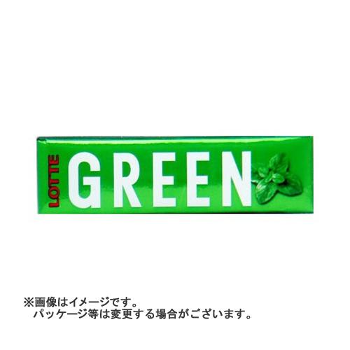【送料込・まとめ買い×300個セット】ロッテ グリーンガム 9枚入