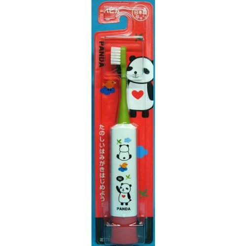 【送料込・まとめ買い×120個セット】ミニマム パンダ ハピカ ハート DBK-5GWR 1本入 電動歯ブラシ