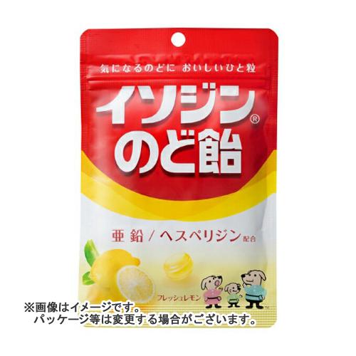 【送料無料・まとめ買い×72個セット】ユーハ味覚糖 イソジン のど飴 フレッシュレモン 袋 81g