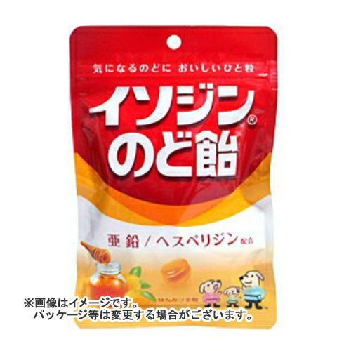 【送料無料・まとめ買い×72個セット】ユーハ味覚糖 イソジン のど飴 はちみつ金柑 袋 81g