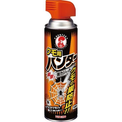 【送料無料・まとめ買い×12個セット】大日本除虫菊 クモ用 ハンター 450mL
