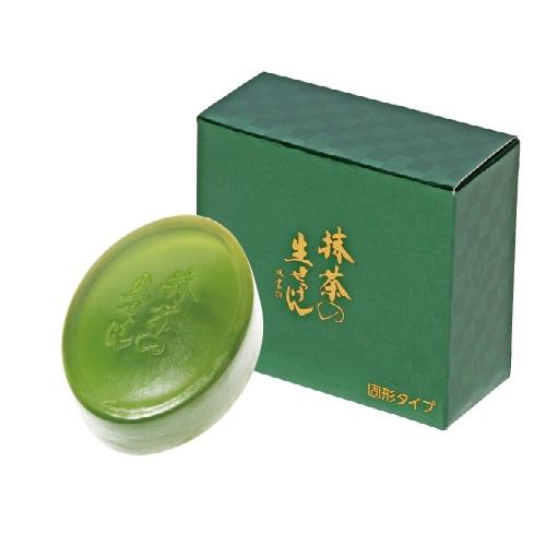 【送料込・まとめ買い×100個セット】UYEKI 美香柑 抹茶の生せっけん 固形タイプ 90g