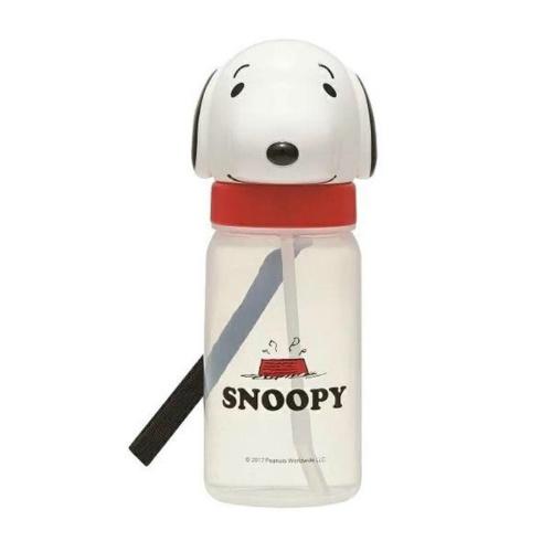 【送料込・まとめ買い×72個セット】スケーター ダイカット ストロー ボトル SNOOPY PBS3STD スヌーピー