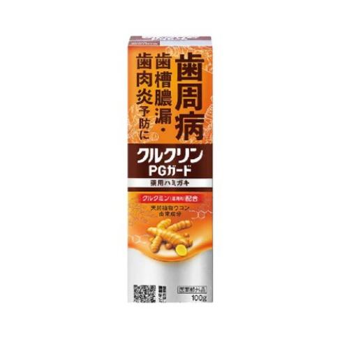 【送料込・まとめ買い×8個セット】サラヤ クルクリン PGガード 薬用ハミガキ 100g