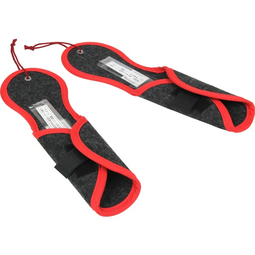 【送料込・まとめ買い×8個セット】テクナード シリカクリン 激取りMAX 靴ドライ ブラック (2コ入)