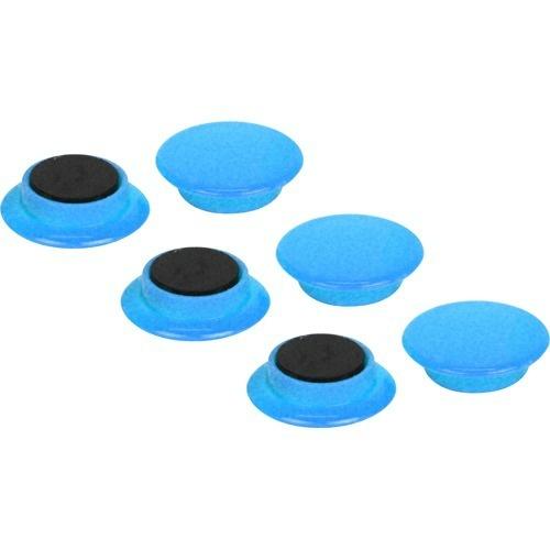 【送料込・まとめ買い×180個セット】藤原産業 E-Value カラーマグネット 中 直径30mm ブルー EMT-06BL(6コ入)