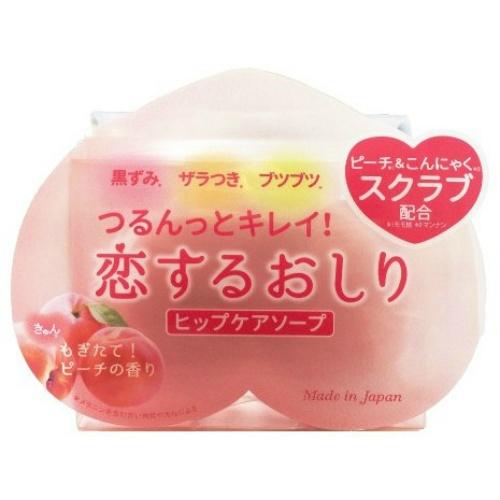 【送料無料・まとめ買い24個セット】ペリカン石鹸 恋するおしり ヒップケアソープ 80g(4976631478272)