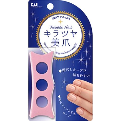 【送料込・まとめ買い×120個セット】貝印 KQ3252 Twinkle Nail トゥインクル キラツヤ 美爪