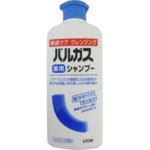 【送料無料・まとめ買い×20個セット】ライオン バルガス 薬用シャンプー フレッシュフローラルの香り 200ml