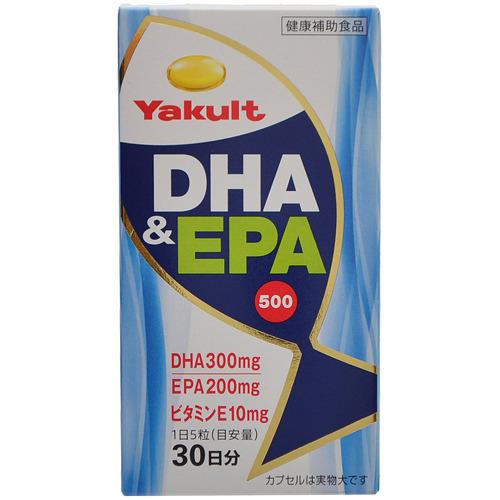 【送料無料・まとめ買い×6個セット】ヤクルトヘルスフーズ ヤクルト DHA&EPA 500 150粒