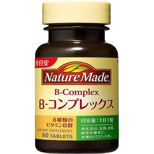 【送料無料・まとめ買い×20個セット】大塚製薬 ネイチャーメイド Bコンプレックス 60粒