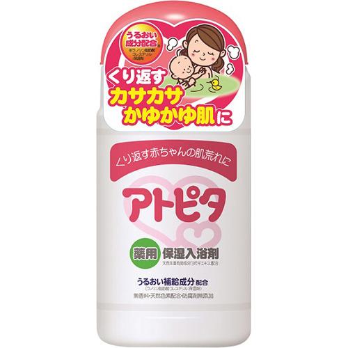 【送料無料・まとめ買い×20個セット】丹平製薬 アトピタ 薬用保湿入浴剤 500g