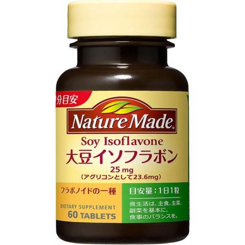 【送料無料・まとめ買い×10個セット】大塚製薬 ネイチャーメイド 大豆イソフラボン 60粒