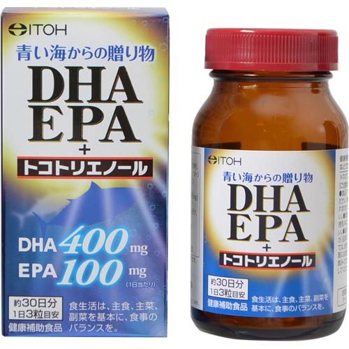 【送料無料・まとめ買い×6個セット】井藤漢方製薬 DHAEPA+トコトリエノール 90粒