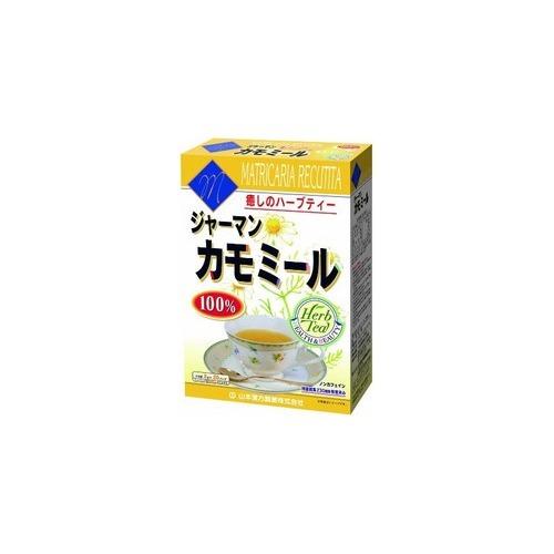 【送料無料・まとめ買い×20個セット】山本漢方製薬 カモミール 100% ティーバッグ 2g×20袋入