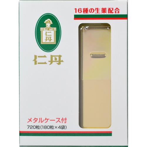 【送料無料・まとめ買い×20個セット】森下仁丹 仁丹 メタルケース入 720粒入
