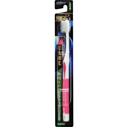 【送料込・まとめ買い×360個セット】エビス リグEX ハブラシ 超先細毛 かため (歯ブラシ)※色は選べません