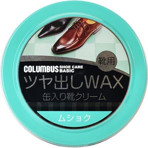 【送料込・まとめ買い×144個セット】コロンブス 缶入り靴クリーム コロンブスベーシック 缶 無色 40g