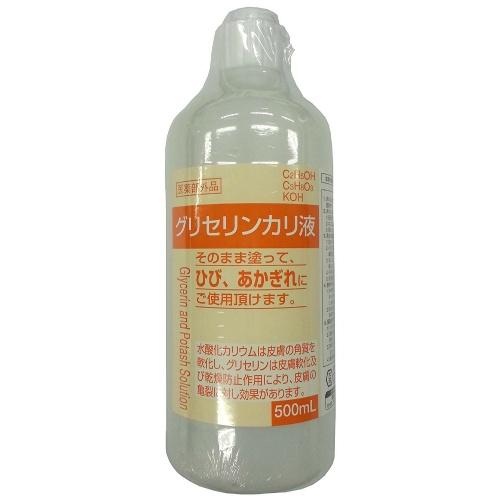 【送料無料・まとめ買い×20個セット】大洋製薬 グリセリンカリ液 500ml