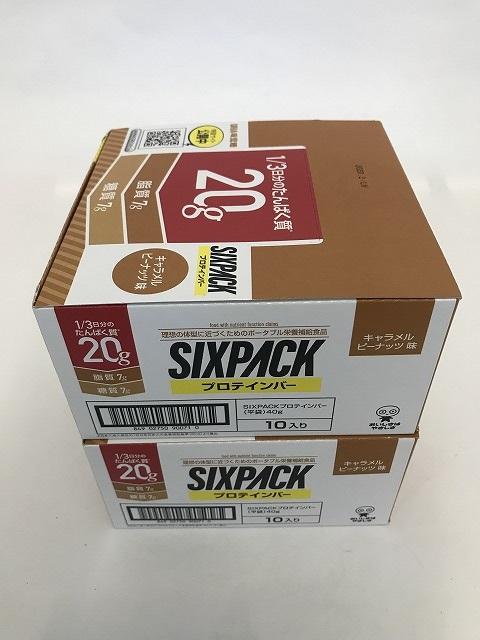 【×20個セット送料無料】UHA味覚糖 SIXPACK シックスパック プロテインバー キャラメルピーナッツ味/4902750900714/