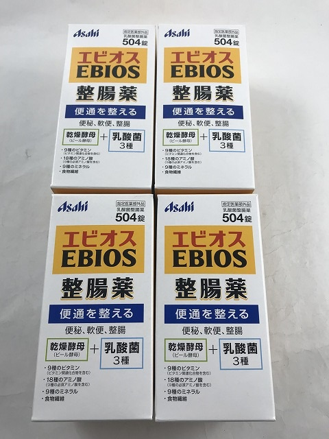 504 tablets of アサヒエピオス medicines for intestinal disorders