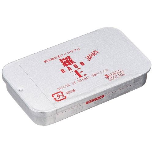 【×2個 配送おまかせ】ライフサポート 源氣堂 羅王JAPAN 3カプセル入