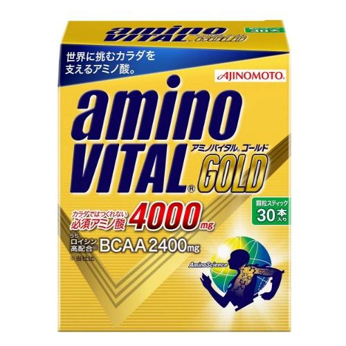 【送料無料・まとめ買い×2個セット】味の素 アミノバイタルGOLD 30本入