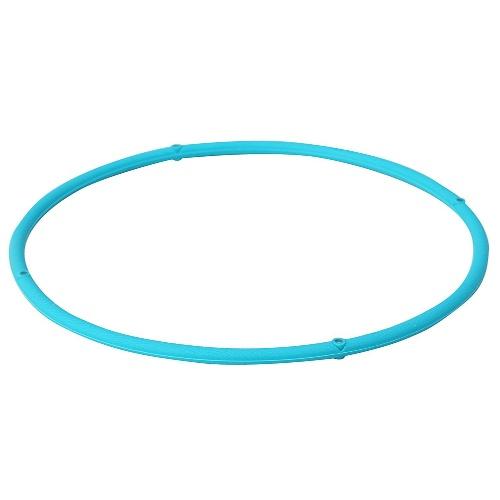 【送料無料・まとめ買い×20個セット】ファイテン ラクワ磁気チタンネックレス S ブルー 45cm