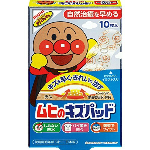 【送料無料・まとめ買い×20個セット】池田模範堂 ムヒのキズパッド 10枚入