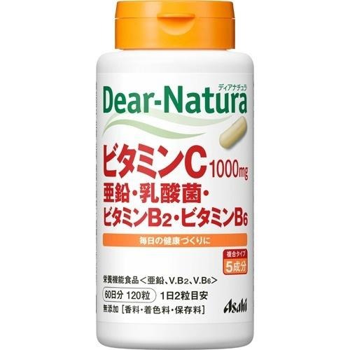 Asahi Diana chula vitamin C, zinc, lactic acid bacterium, vitamin B2, one  vitamin B6 60 days