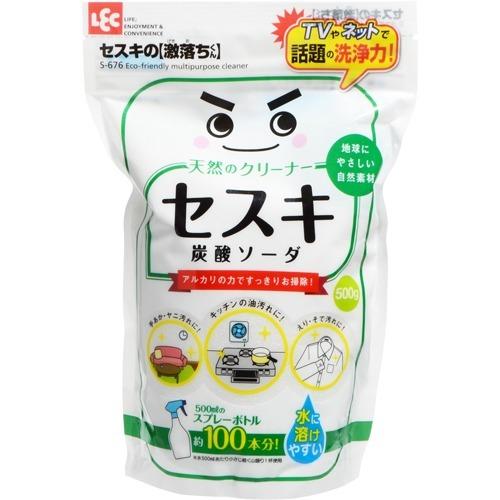 【送料無料・まとめ買い24個セット】レック S-676 セスキ炭酸ソーダ 500g