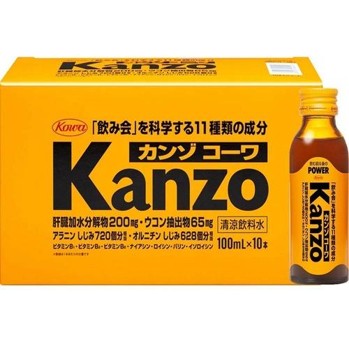 【×5個セット送料無料】興和新薬 Kanzo カンゾコーワドリンク 100ml×10本入1ケース(4987067464906)