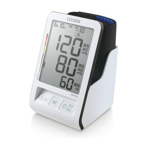 【送料無料・まとめ買い×4個セット】シチズン 血圧計 CHUC515