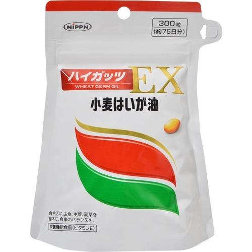 【まとめ買い×6個セット】日本製粉 ニップン 小麦はいが油 ハイガッツEX 300粒入