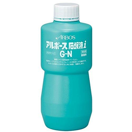 【送料無料・まとめ買い×12個セット】アルボース 石鹸液i G-N 500g